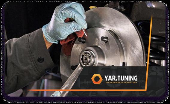 Техническое обслуживание и ремонт тормозной системы
